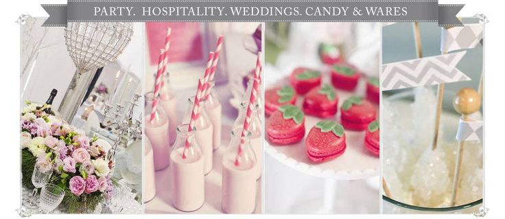 The Little Big Company - Party - Weddings - Lollies - Kitchenware