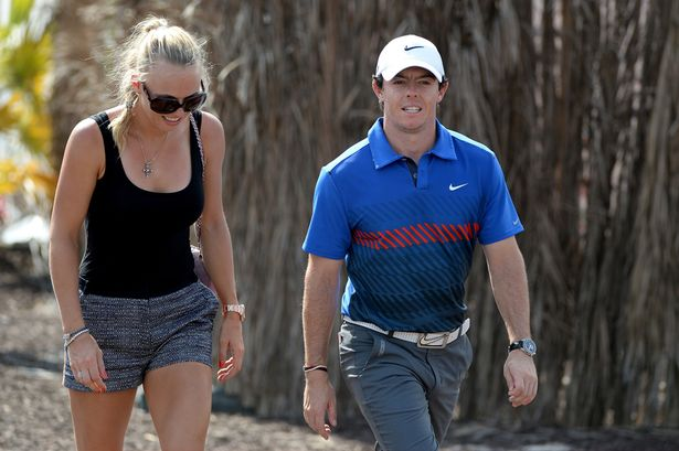 "Golf superstar Rory McIlroy proposes to girlfriend Caroline Wozniacki tweeting: ""first victory of 2014"""