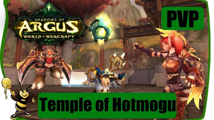 WOW LEGION 7.3 - Temple Of Hotmogu WEEKLY BRAWL PVP | Resto Druid Gameplay #games #videogames #pcgaming #mmo