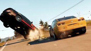 Jeu de course en monde ouvert, Forza Horizon 2 [sur Xbox One] vous donne accès à plus de 200 voitures. Le joueur peut arpenter à toute vitesse des paysages inspirés du sud de la France et du nord de l'Italie. De très nombreuses épreuves sont au programme et le jeu permet aux pilotes du monde entier de s'affronter dans les mêmes conditions qu'en solo.