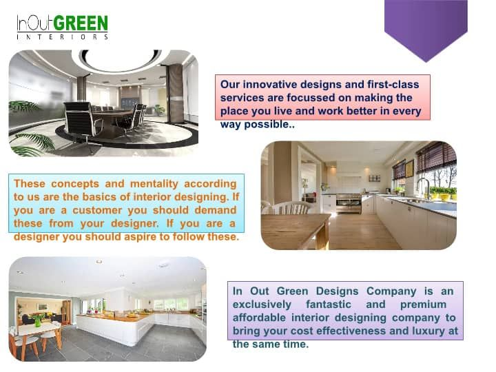 Inoutgreendesigns Is A Home And Office Interior Designer In Noida Providing Elegant Classic And Timeless Solutions For All Innovation Design Design Renovation