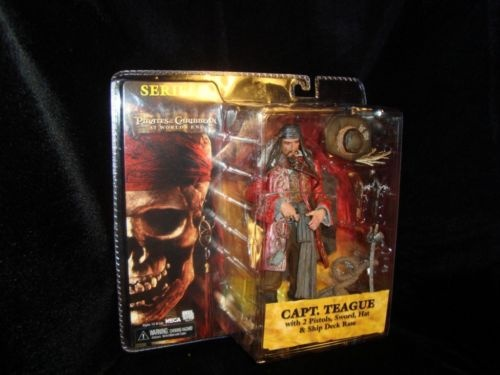 PIRATES-CAPTAIN TEAGUE-SPARROW'S FATHER-KEITH RICHARDS-NECA-XLT DETAILS-NEW-COOL  PIRATES-CAPTAIN TEAGUE-SPARROW'S FATHER-KEITH RICHARDS-NECA-XLT DETAILS-NEW-COOL johnny depp created his character from keith richards and elmer fudd