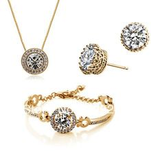 Gold Plated Jewelry set - Lamia Sugar Designer