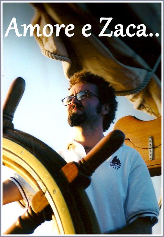 Carlo's Lifestyle...I was a chef on a sailing boat: the Zaca Quando ero chef della barca a vela Zaca