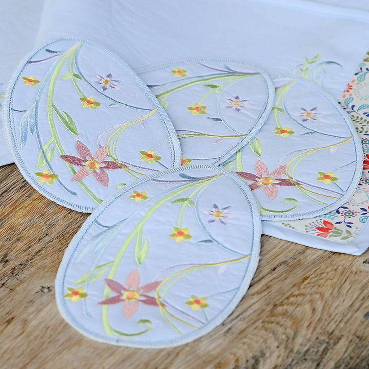 Úžitkový textil - Veľkonočné prestieranie - 6510368_