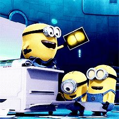 Silly minions!!
