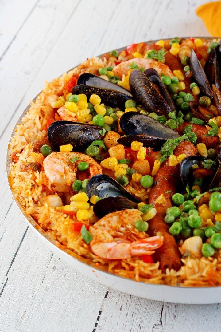 My Traditional Spanish Paella Recipe Spanish Paella Traditional Spanish Paella Recipe Paella