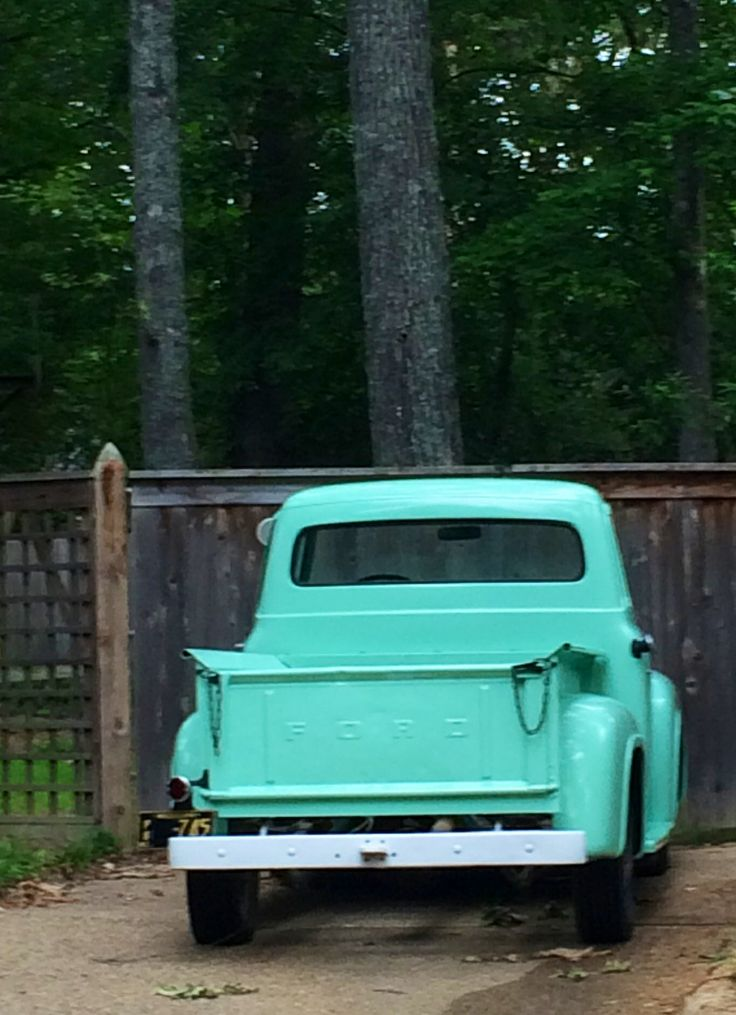 377 best old ford images on pinterest classic trucks custom old ford pickup in summer publicscrutiny Image collections