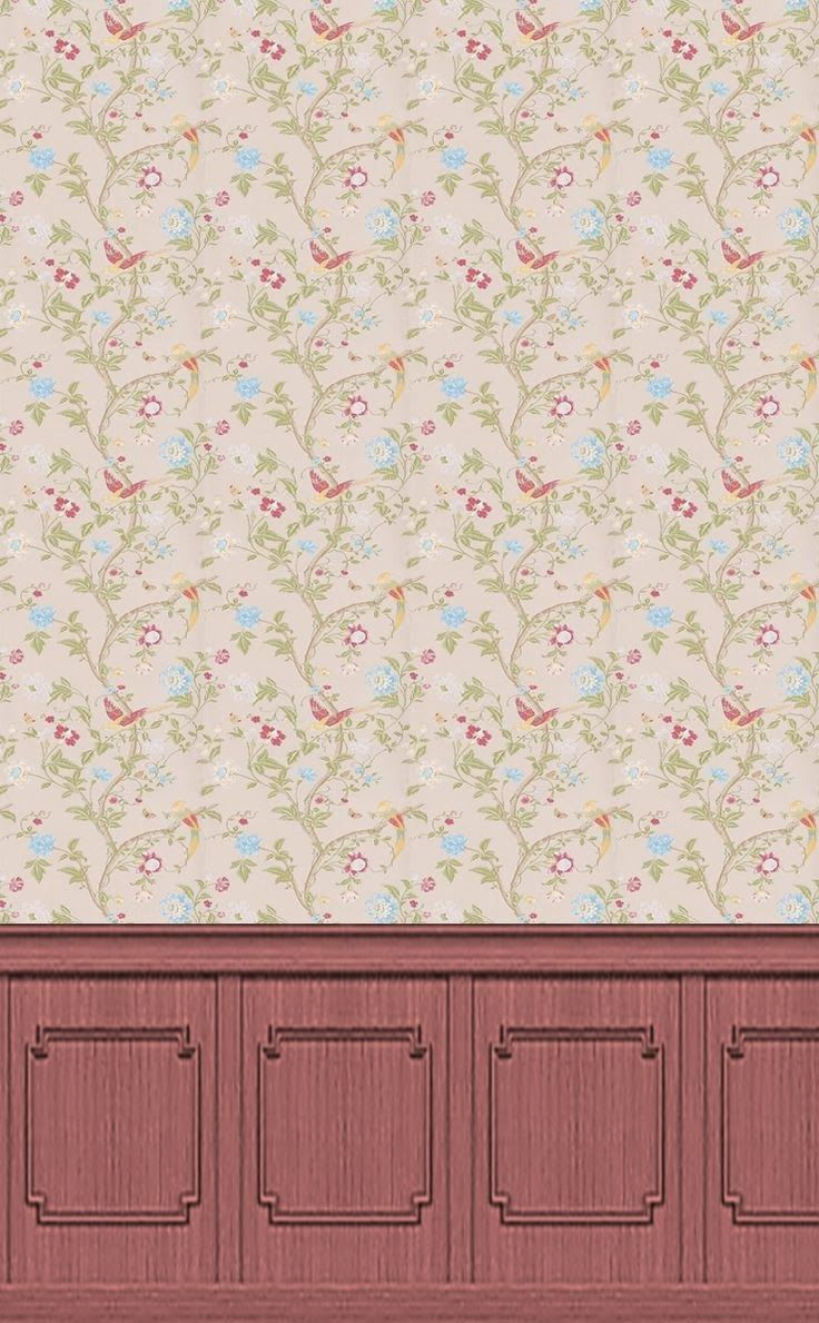 1000+ Images About Wallpaper For Doll Houses On Pinterest