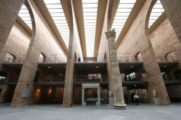 MUSEO NACIONAL DE ARTE ROMANO, Rafael Moneo