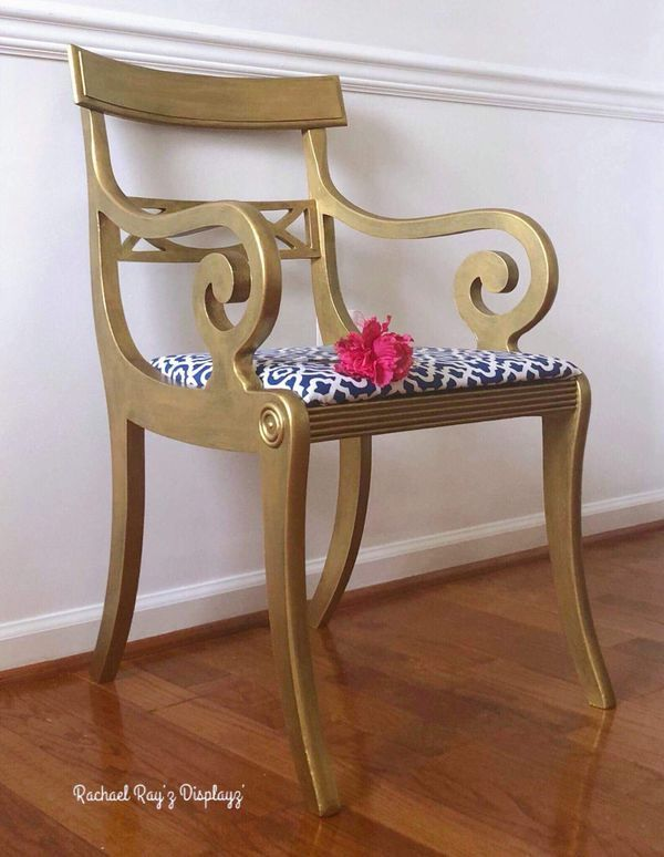 Wondrous Hollywood Glam Style Accent Chair For Sale In Summerville Squirreltailoven Fun Painted Chair Ideas Images Squirreltailovenorg