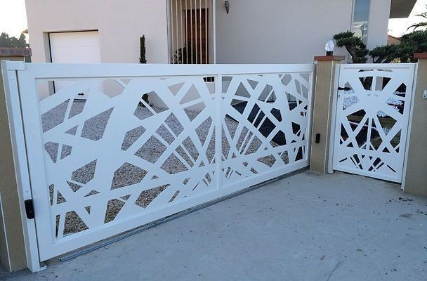 Aluminium Fence Fencing Mould Railing Panel Garden Gate Gates Manufacturer Wall