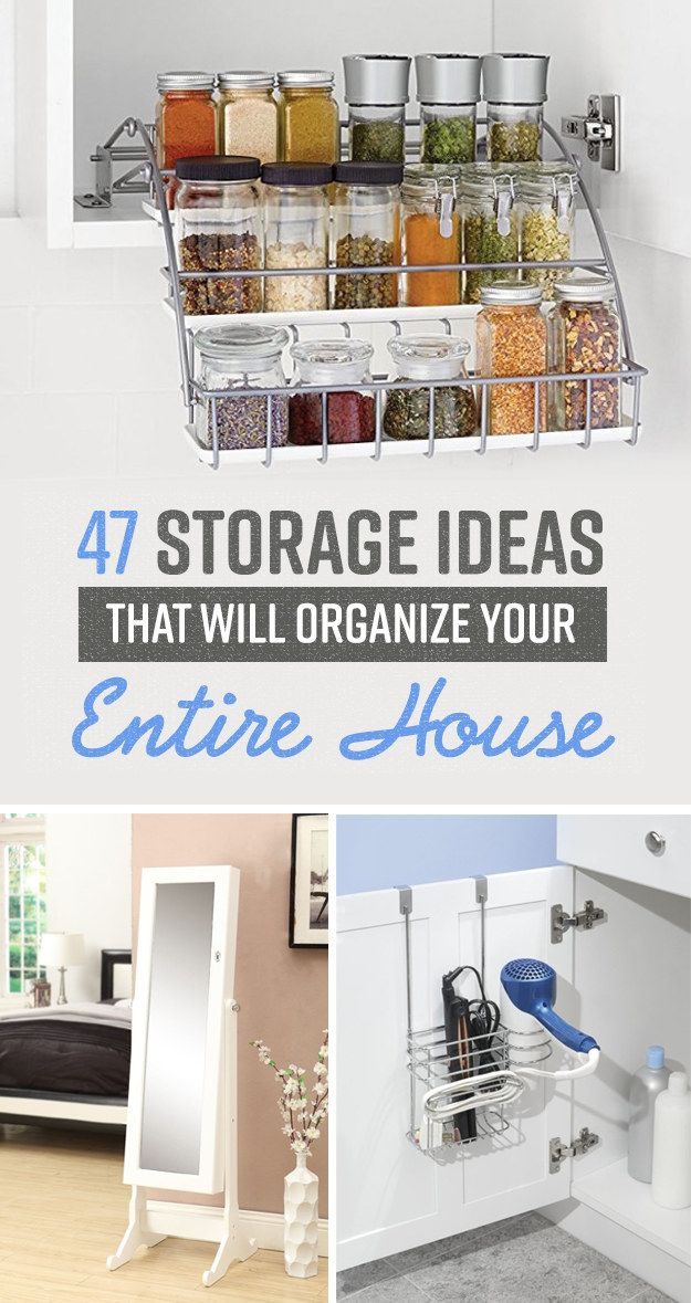 47 Insanely Clever Storage Ideas For Your Whole House