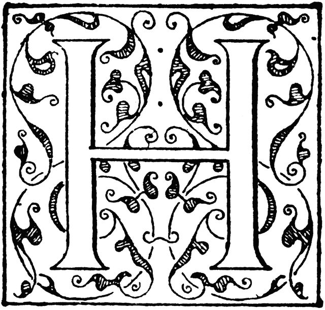 illuminated alphabet coloring pages - 1000 images about illuminated letters on pinterest