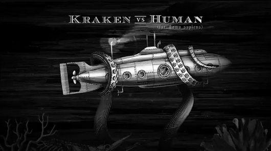 Kraken Rum Illustrated Animations... on the Behance Network in ...