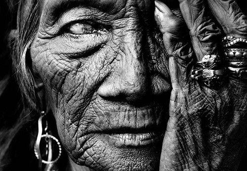 Old Shaman Woman