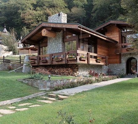 ШАЛЕ (альпийский) - Архитектура и Дизайн Марины Прицкер