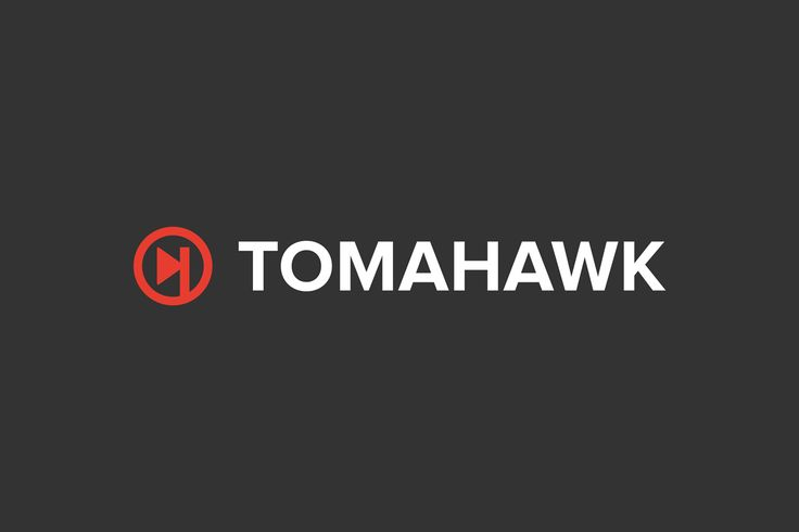 Tomahawk Music Player Logo Design