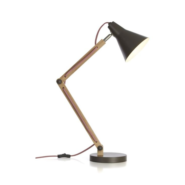 17 Best ideas about Grey Desk Lamps – Crate and Barrel Desk Lamp