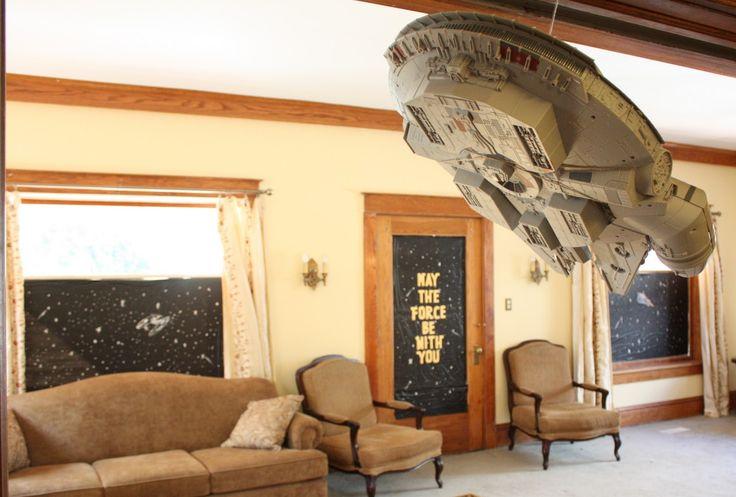 63 best Star Wars Room Decor Ideas images on Pinterest   Child room ...