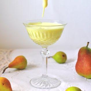 Rezept von Cettina Vicenzino: Zabaione mit Weißwein-Birnen