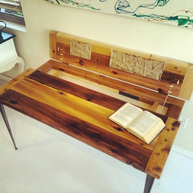 Lovely This #modern #industrial #rustic Desk Was A Pretty Simple, Inexpensive  Project.