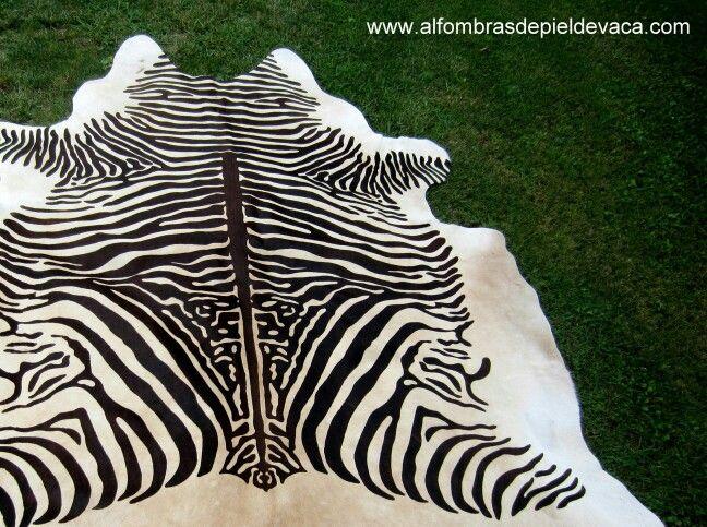 Las 25 mejores ideas sobre alfombras de cebra en - Alfombra piel cebra ...