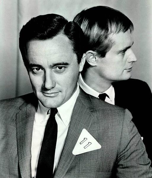 Robert Vaughn & David McCallum in The Man from U.N.C.L.E. (1964-1968, NBC)