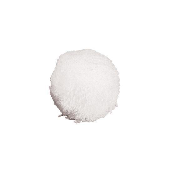 Fleece Balls - 4'' White - Dz