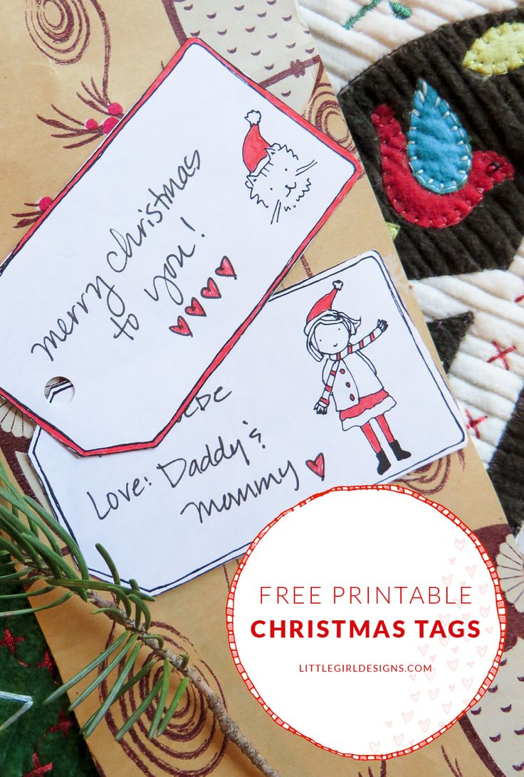The 25 best printable christmas gift tags ideas on pinterest download these free printable christmas gift tags from little girl designs too cute negle Choice Image