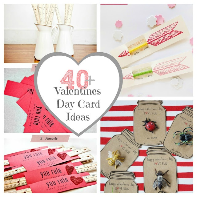 40 Valentine's Day Cards and Gift Ideas-The Crafted Sparrow #valentine #valentin…