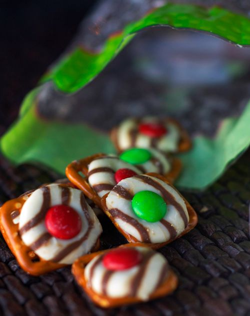 Despite my aversion to pretzels covered in anything, I discovered I loved these this Christmas.