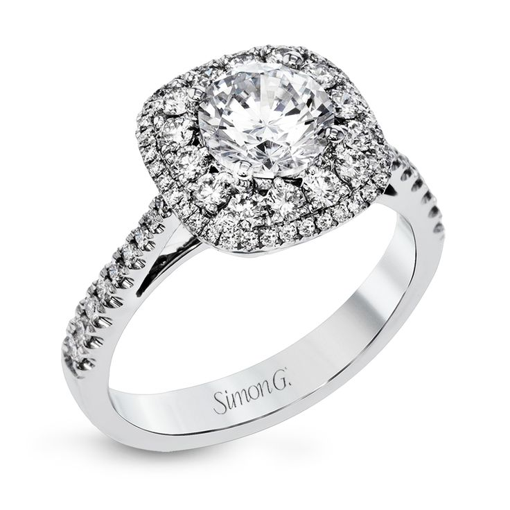 Modern Enhancement Collection Engagement Ring Style MR2827-A by Simon G Jewelry