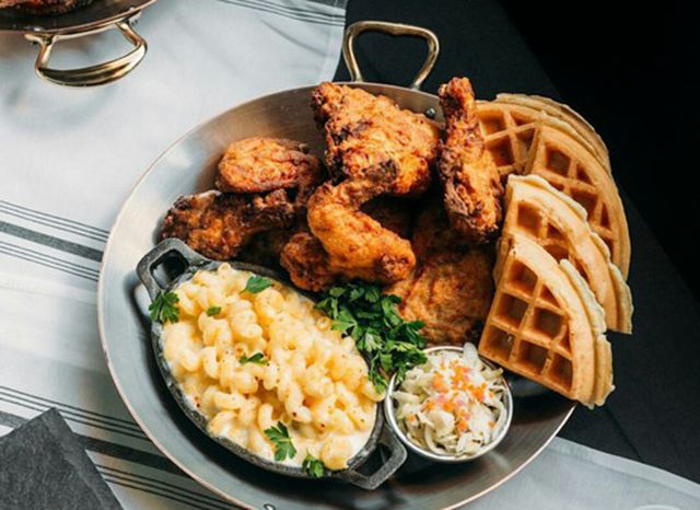 So apparently fried chicken and waffles is a thing.... here are the 12 Best Montreal Fried Chicken And Waffles Restaurants