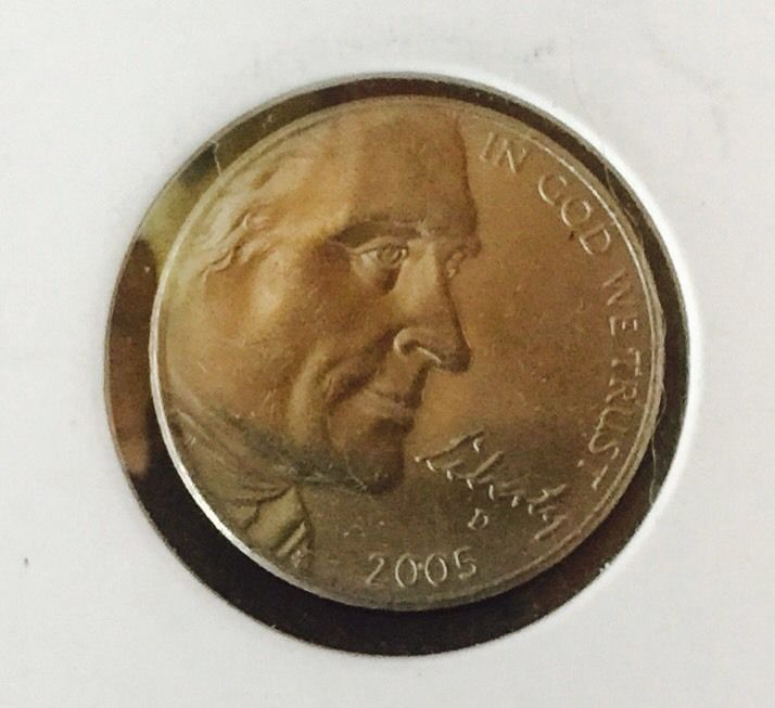 2005 D Jefferson Nickel Circulated Bison Buffalo USA Coin Five Cents | eBay