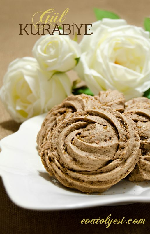 gul kurabiye- rose