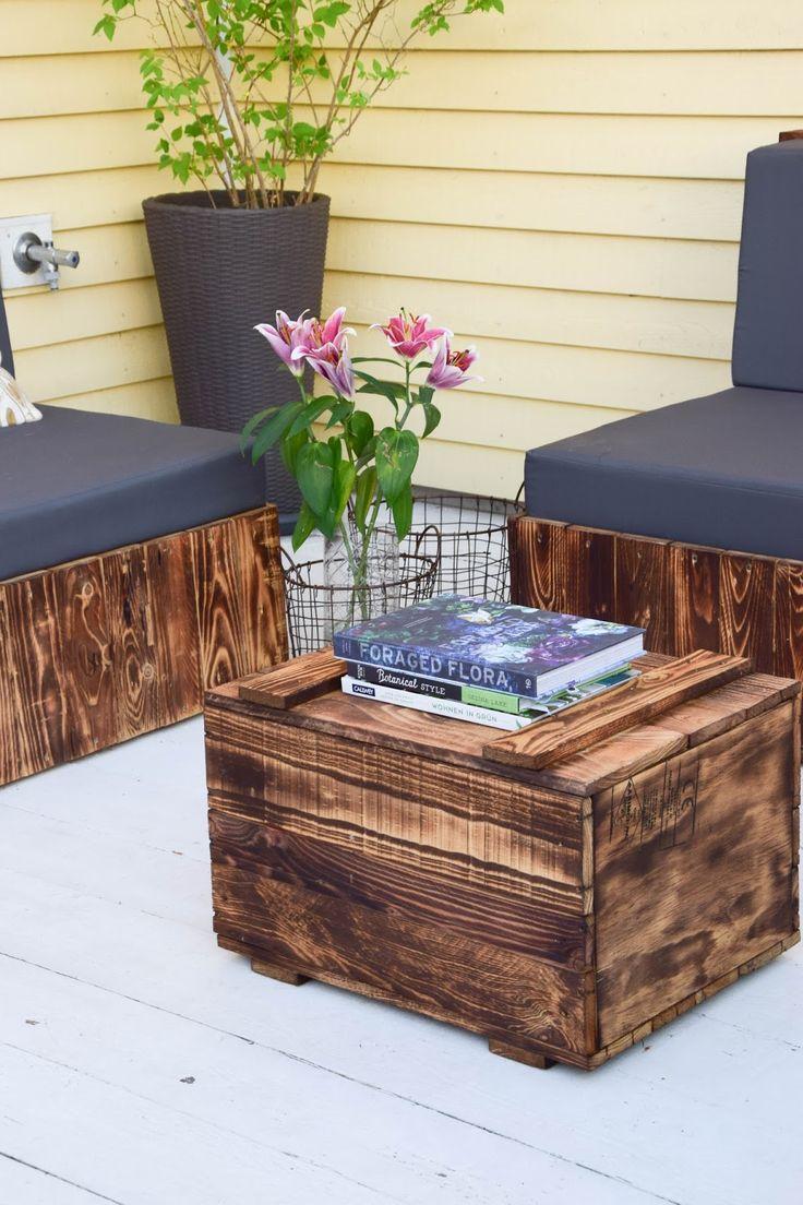 132 besten diy garten bilder auf pinterest verandas einfach und europalette. Black Bedroom Furniture Sets. Home Design Ideas