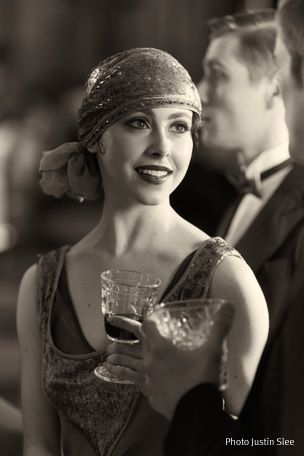 vintage 1920s inspiration from Northern Ballet for Great Gatsby