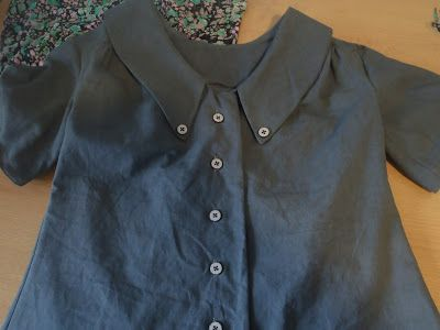 Mimi Blouse and Clemencé Skirt (Love at First Stitch)