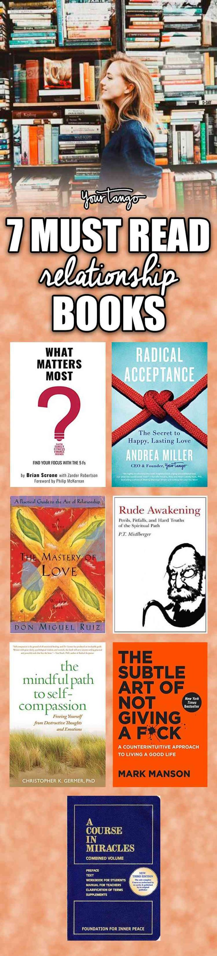 Here are seven good relationship books that you should read!