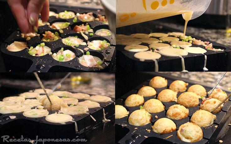 Takoyaki   Recetas Japonesas en español!