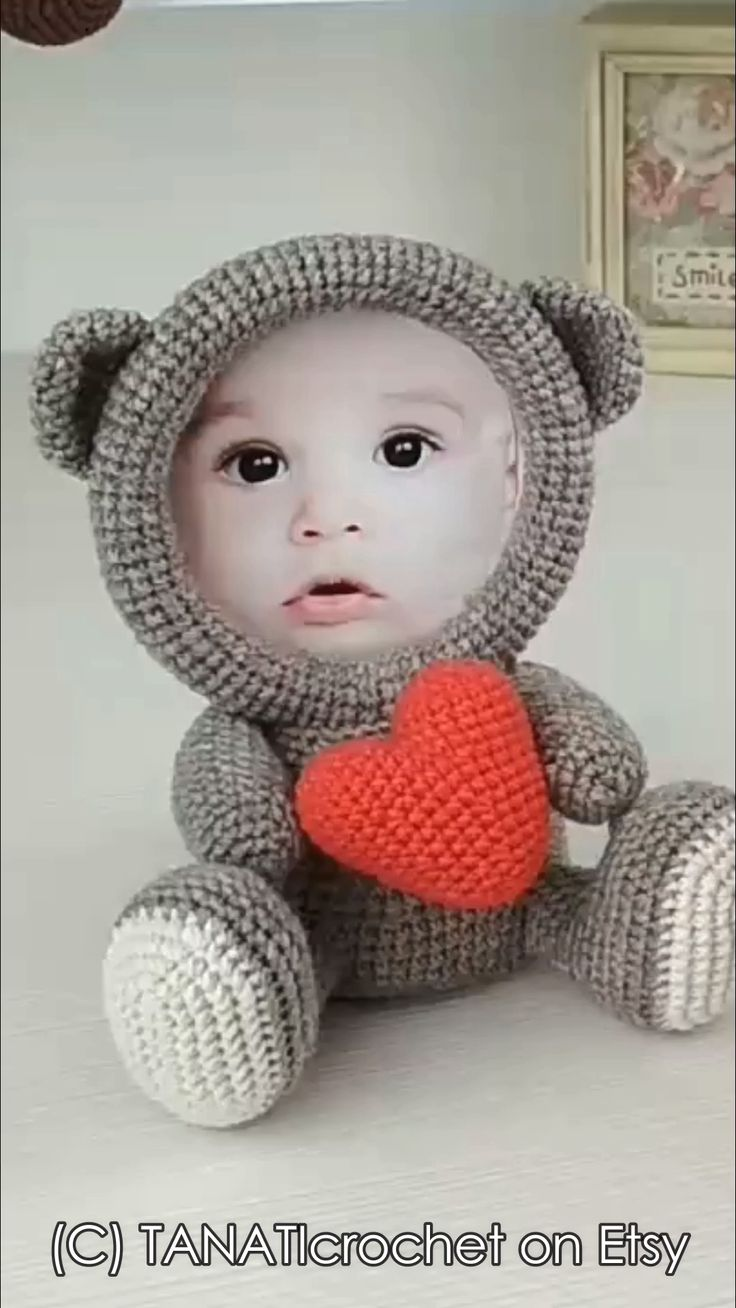 Crochet Photo Frames Pattern
