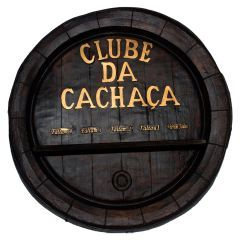 Tampa de Barril Clube da Cachaça - Artesanal