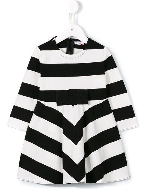 Купить Il Gufo полосатое платье в Stefania Mode from the world's best independent boutiques at farfetch.com. 400 бутиков, 1 адрес. .