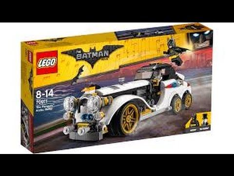 THE LEGO BATMAN MOVIE The Penguin Arctic Roller set The Garage Tv unboxing - YouTube #lego #legobatman #legoreview #unboxing
