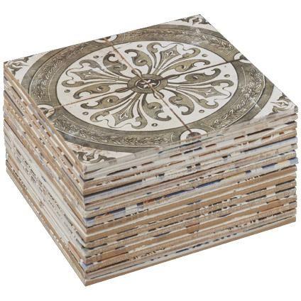 Wand- en vloertegel Nikea 20 x 20cm per 1m2 | Praxis