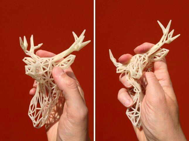 Flexible 3D print