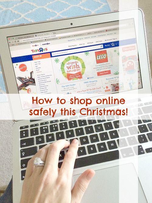 Christmas shopping online - Let's Talk Mommy