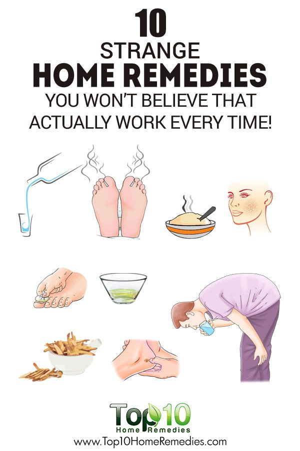 10 Strange Home Remedies You Won't Believe That Actually Work Every Time!