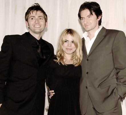 David Tennant, Billie Piper, and Richard Armitage!! Whoo hoo, a few of my favorite Brits in one place.